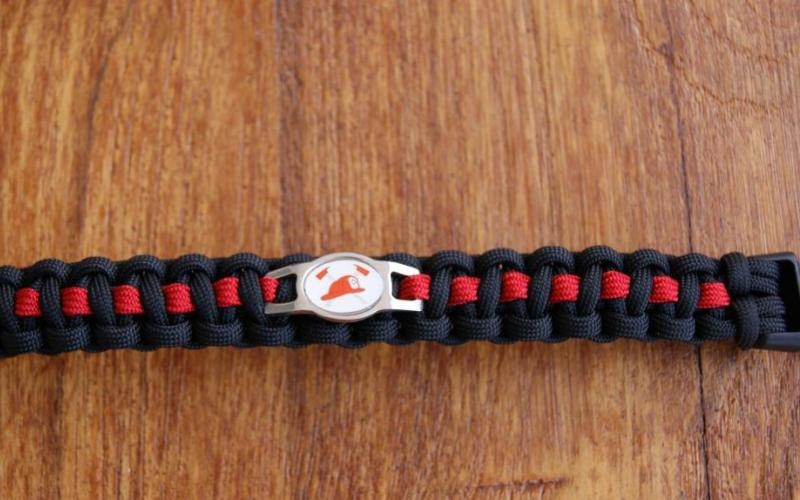Fire Fighter Thin red line Charm