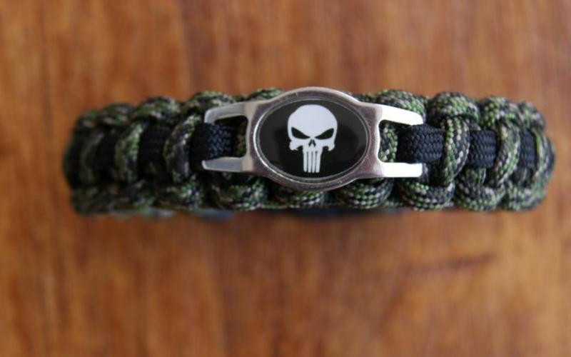 Punisher Charm Bracelet