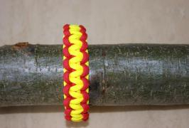 Fire Fighter Paracord Bracelet paracord-corner